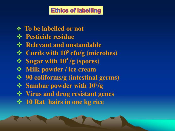 Ethics of