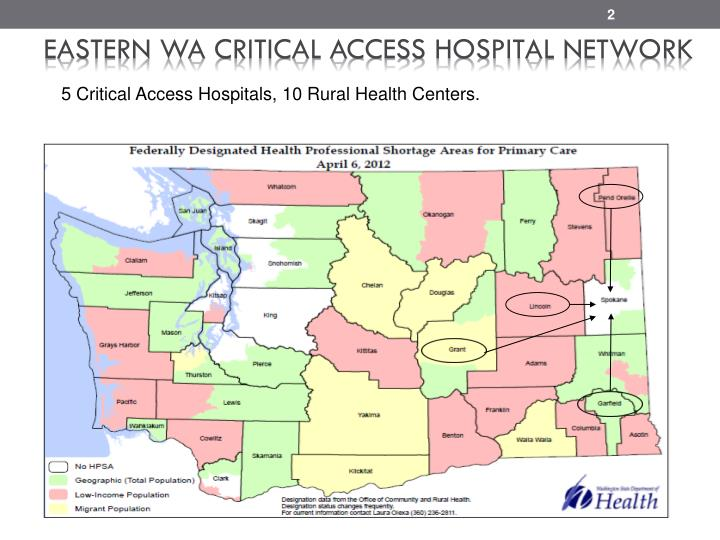 Eastern WA Critical Access Hospital Network