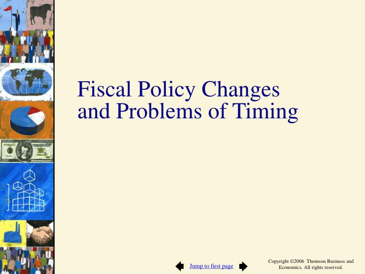 Fiscal Policy Changes