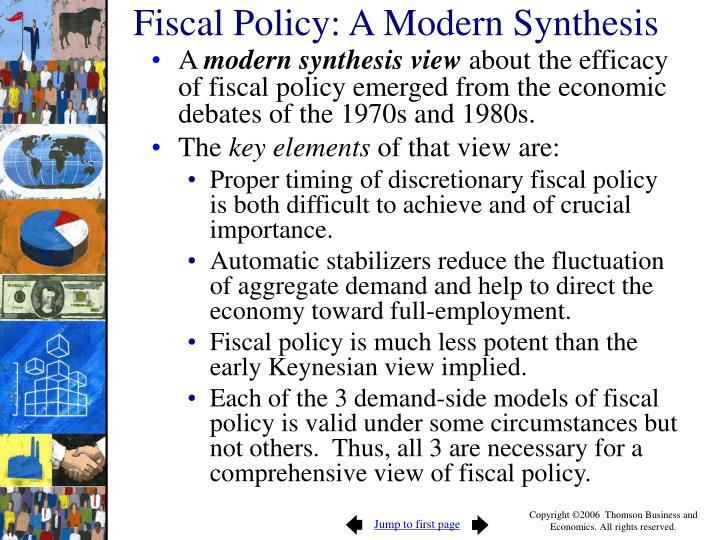 Fiscal Policy: A Modern Synthesis
