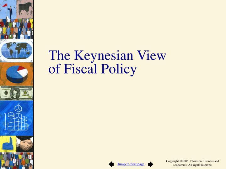 The Keynesian View