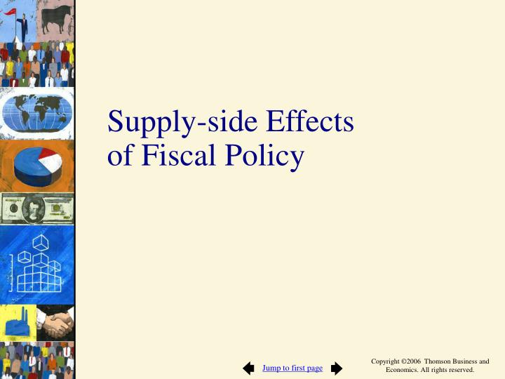 Supply-side Effects