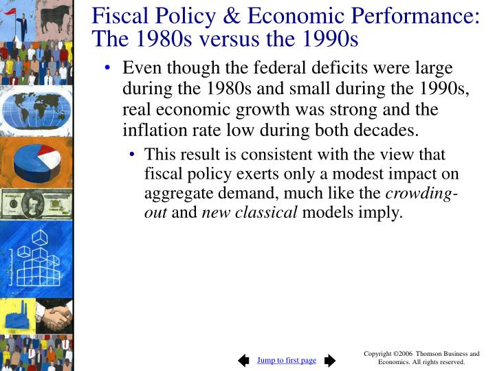 Fiscal Policy & Economic Performance: