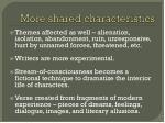 more shared characteristics