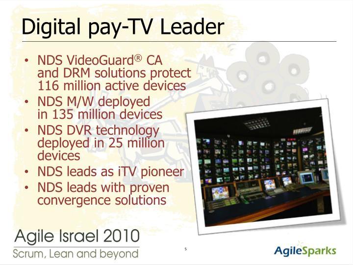 Digital pay-TV Leader