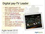 digital pay tv leader