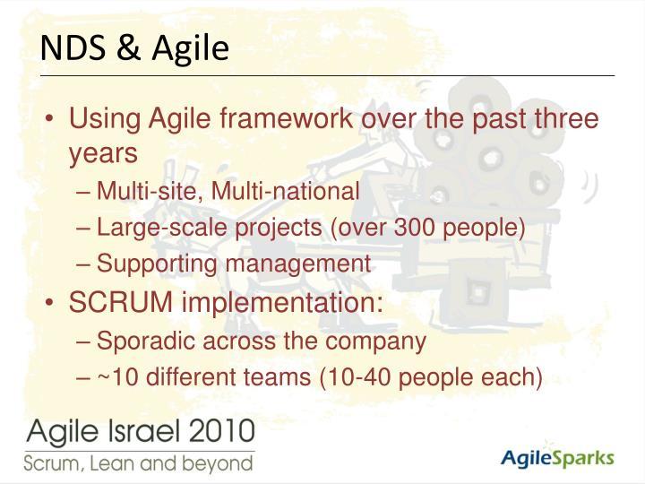 NDS & Agile