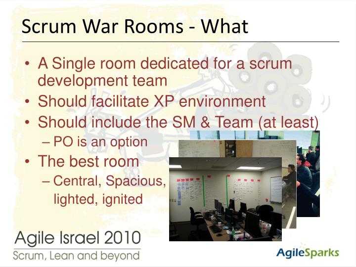 Scrum War Rooms - What