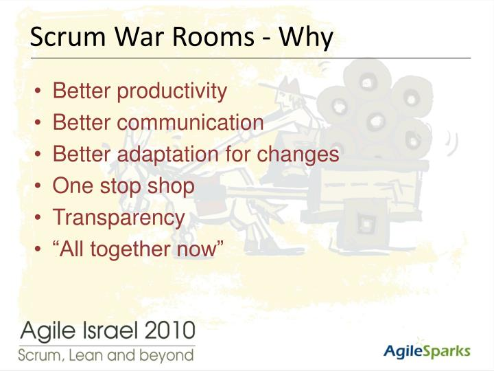 Scrum War Rooms - Why