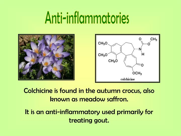 Anti-inflammatories