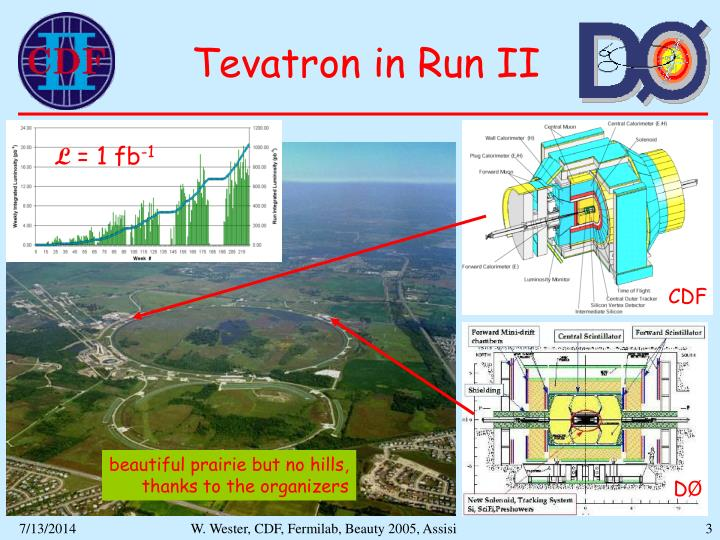 Tevatron in run ii
