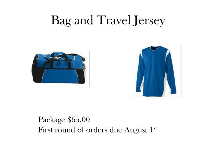 Bag and Travel Jersey