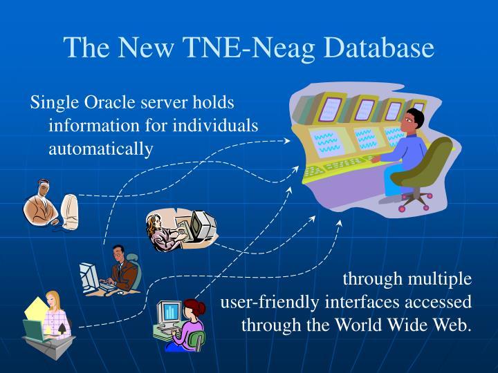 The New TNE-Neag Database