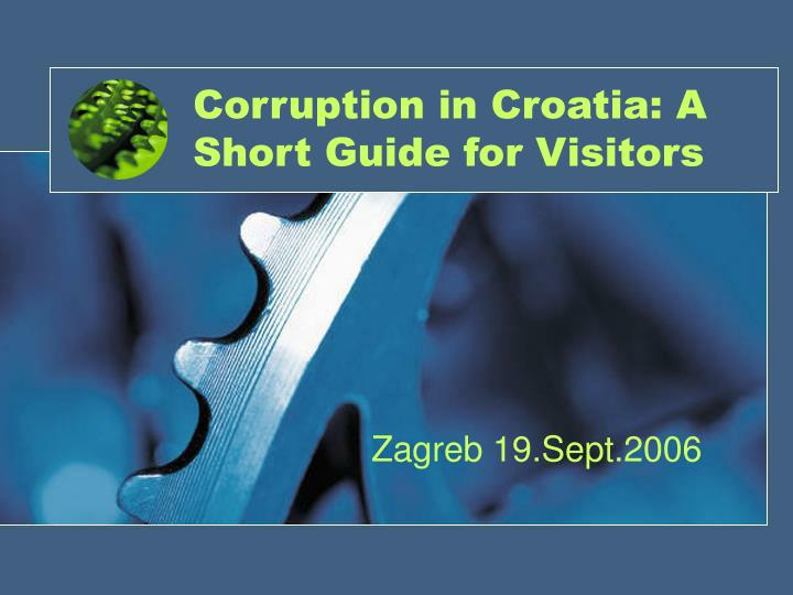 Corruption in croatia a short guide for visitors