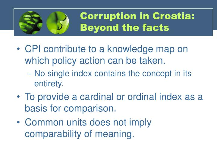 Corruption in Croatia