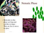 nematic phase