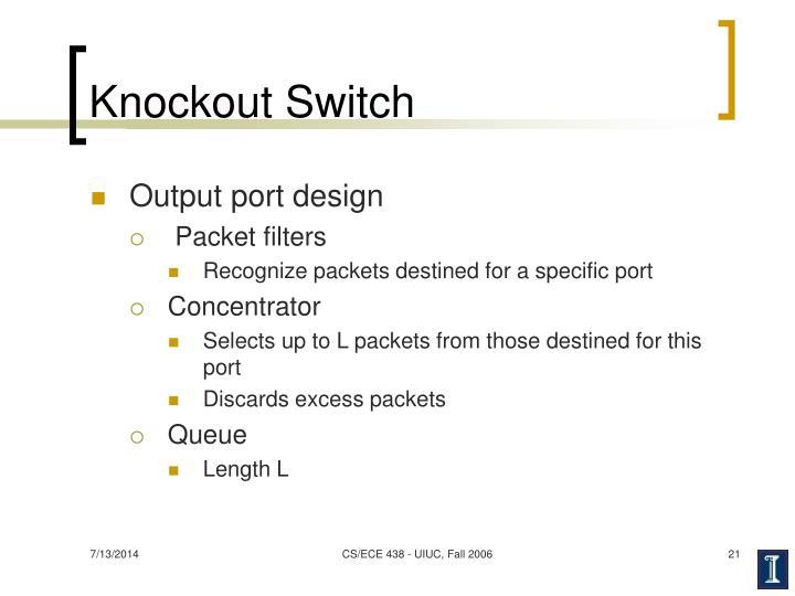 Knockout Switch