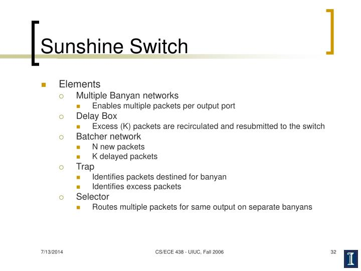 Sunshine Switch