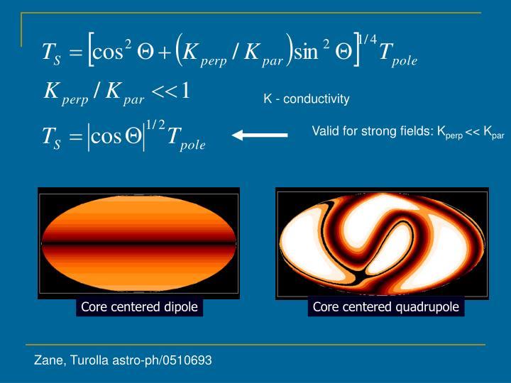 K - conductivity
