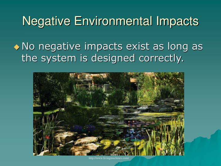 Negative Environmental Impacts