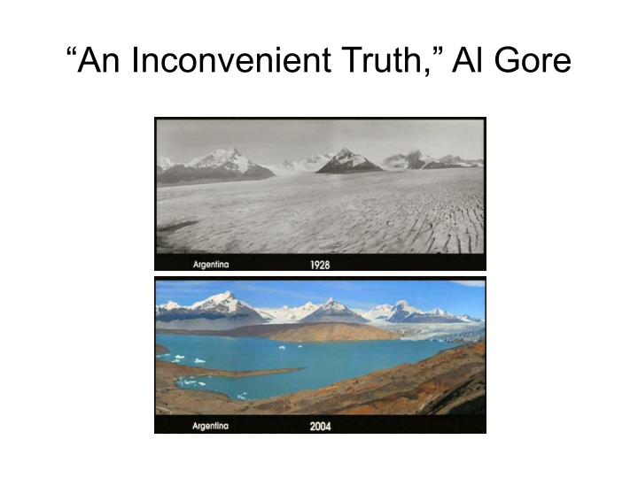 """An Inconvenient Truth,"" Al Gore"