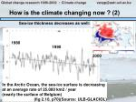 how is the climate changing now 2