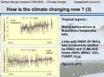 how is the climate changing now 3