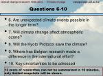 questions 6 10