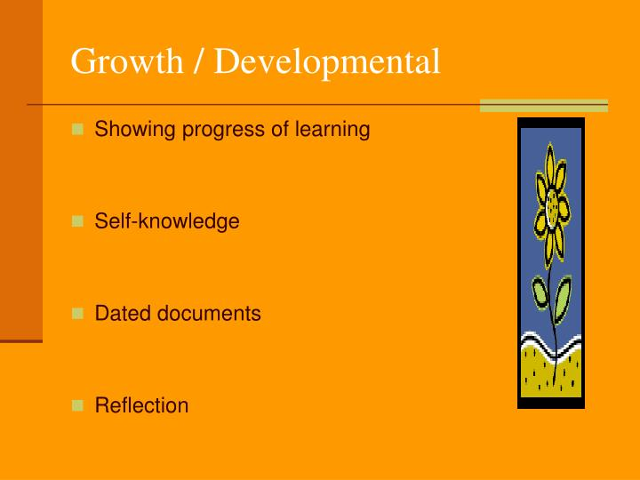 Growth / Developmental