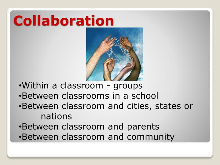 Within a classroom - groups