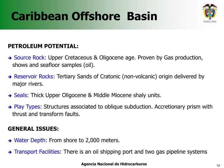 Caribbean Offshore  Basin