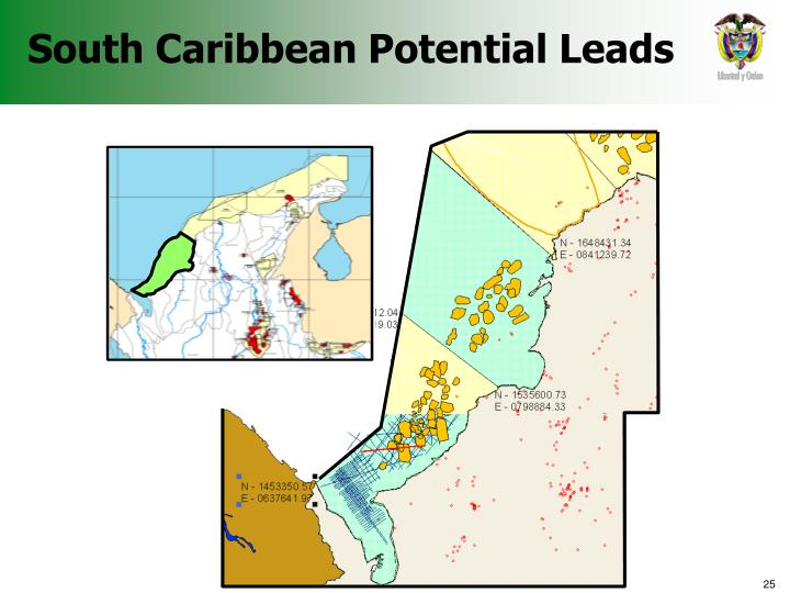 South Caribbean Potential Leads