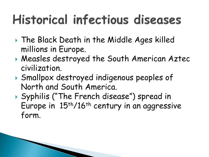 Historical infectious diseases