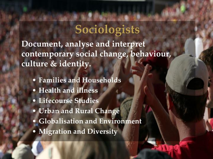 Sociologists