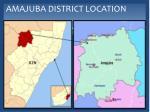 amajuba district location