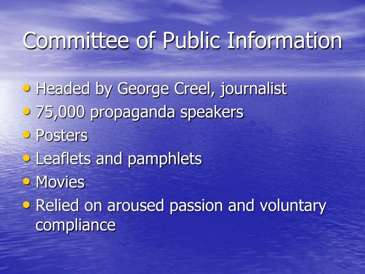 Committee of Public Information
