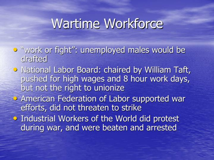 Wartime Workforce