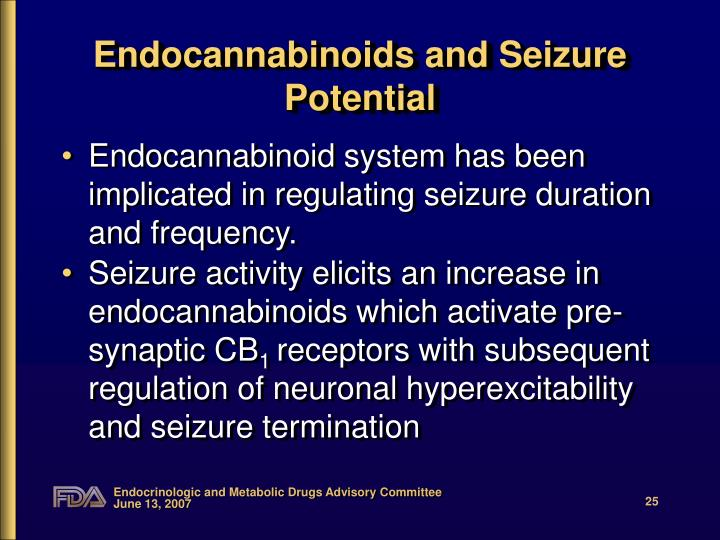 Endocannabinoids and Seizure Potential
