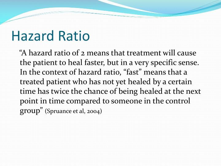 Hazard Ratio