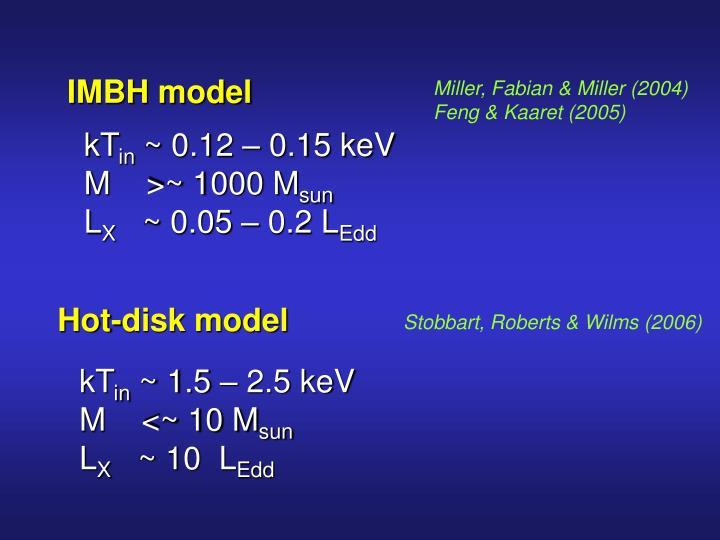 IMBH model