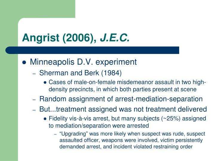 Angrist (2006),