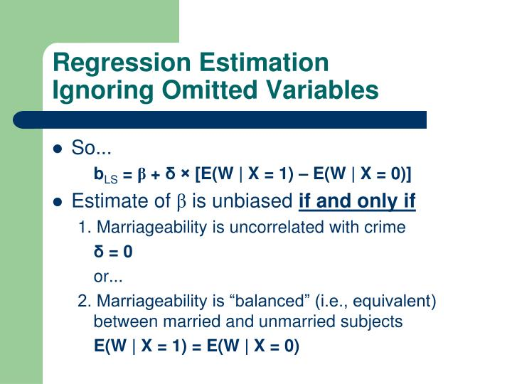 Regression Estimation
