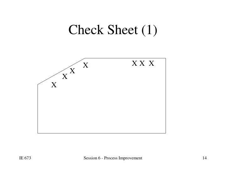 Check Sheet (1)