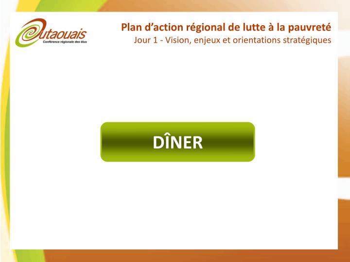 Plan d'action régional de lutte à la pauvreté