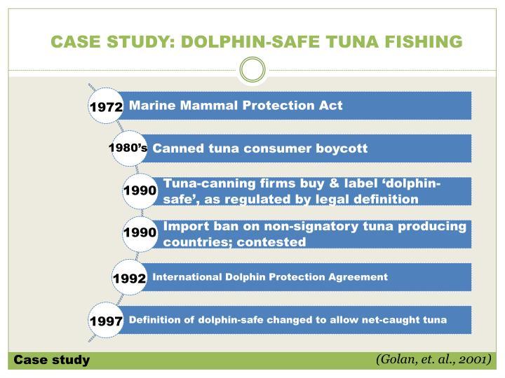 CASE STUDY: DOLPHIN-SAFE TUNA FISHING