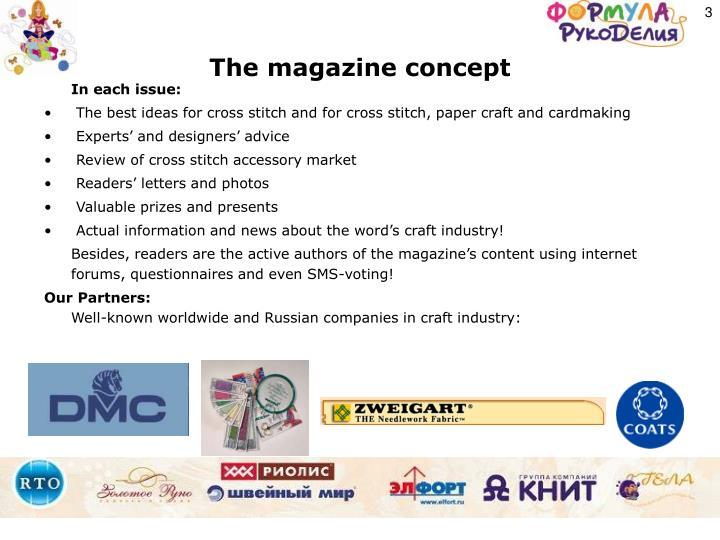 The magazine concept
