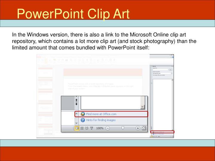 PowerPoint Clip Art