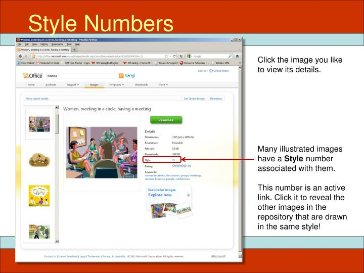 Style Numbers