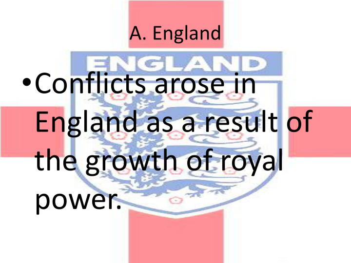 A. England