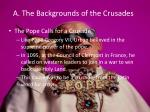 a the backgrounds of the crusades2